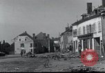 Image of World War 2 ruins in Chaumont-Porcien France Chaumont-Porcien France, 1940, second 10 stock footage video 65675073796