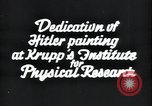 Image of painting of Adolf Hitler Germany, 1934, second 5 stock footage video 65675073852