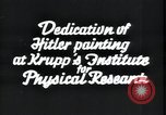 Image of painting of Adolf Hitler Germany, 1934, second 7 stock footage video 65675073852