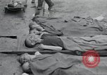 Image of emaciated corpses Germany, 1945, second 7 stock footage video 65675073860