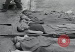 Image of emaciated corpses Germany, 1945, second 9 stock footage video 65675073860