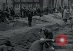 Image of German civilians bury Wobbelin victims Ludwigslust Germany, 1945, second 9 stock footage video 65675073877