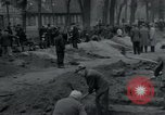 Image of German civilians bury Wobbelin victims Ludwigslust Germany, 1945, second 11 stock footage video 65675073877