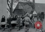 Image of German civilians Neuenburg Germany, 1945, second 8 stock footage video 65675073881