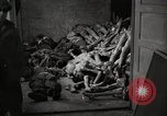 Image of pile of emaciated corpses Germany, 1945, second 10 stock footage video 65675073907