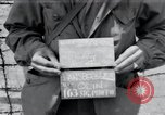 Image of liberated surviving concentration camp prisoners Landsberg Germany, 1945, second 4 stock footage video 65675073910