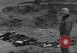 Image of unburied bodies of victims Germany, 1945, second 11 stock footage video 65675073912