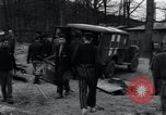 Image of sick prisoners Germany, 1945, second 9 stock footage video 65675073913