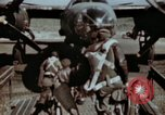 Image of B-26 Marauder bomber crew flaunting standard procedures Germany, 1945, second 11 stock footage video 65675073918