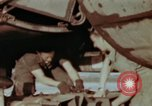 Image of B-26 Marauder bomber preparing for a mission Germany, 1945, second 4 stock footage video 65675073919