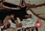 Image of B-26 Marauder bomber preparing for a mission Germany, 1945, second 5 stock footage video 65675073919