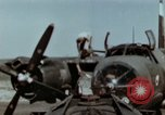 Image of B-26 Marauder bombers refueled and departing on mission Germany, 1945, second 9 stock footage video 65675073921