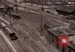 Image of bomb-damaged buildings Worms Germany, 1945, second 8 stock footage video 65675073926