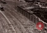 Image of bomb-damaged buildings Worms Germany, 1945, second 9 stock footage video 65675073926