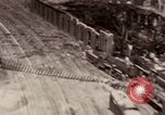 Image of bomb-damaged buildings Worms Germany, 1945, second 10 stock footage video 65675073926