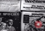 Image of German newspapers Germany, 1937, second 3 stock footage video 65675073931