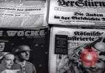 Image of German newspapers Germany, 1937, second 4 stock footage video 65675073931