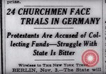 Image of Nazi position against religion Germany, 1937, second 4 stock footage video 65675073932