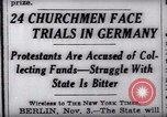 Image of Nazi position against religion Germany, 1937, second 5 stock footage video 65675073932