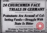 Image of Nazi position against religion Germany, 1937, second 6 stock footage video 65675073932