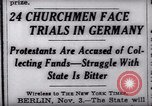 Image of Nazi position against religion Germany, 1937, second 10 stock footage video 65675073932