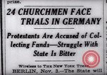 Image of Nazi position against religion Germany, 1937, second 12 stock footage video 65675073932