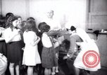 Image of Jewish refugee children Haifa Palestine, 1945, second 10 stock footage video 65675073936