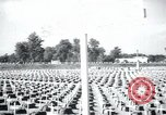 Image of cemetery Terezin Czechoslovakia, 1946, second 7 stock footage video 65675073966