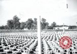 Image of cemetery Terezin Czechoslovakia, 1946, second 10 stock footage video 65675073966