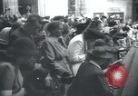 Image of Catholic worshipers Prague Czechoslovakia, 1946, second 4 stock footage video 65675073967