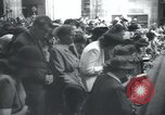 Image of Catholic worshipers Prague Czechoslovakia, 1946, second 7 stock footage video 65675073967