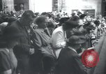 Image of Catholic worshipers Prague Czechoslovakia, 1946, second 8 stock footage video 65675073967
