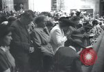 Image of Catholic worshipers Prague Czechoslovakia, 1946, second 9 stock footage video 65675073967