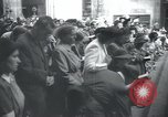 Image of Catholic worshipers Prague Czechoslovakia, 1946, second 10 stock footage video 65675073967