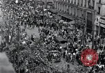 Image of Victory Day parade Paris France, 1945, second 1 stock footage video 65675074006