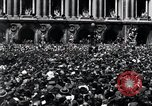 Image of French crowd Paris France, 1945, second 9 stock footage video 65675074010
