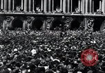 Image of French crowd Paris France, 1945, second 10 stock footage video 65675074010