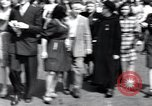 Image of French crowd Paris France, 1945, second 3 stock footage video 65675074011