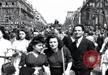 Image of French crowd Paris France, 1945, second 8 stock footage video 65675074011
