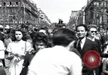 Image of French crowd Paris France, 1945, second 9 stock footage video 65675074011