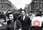 Image of French crowd Paris France, 1945, second 10 stock footage video 65675074011