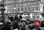 Image of French crowd Paris France, 1945, second 3 stock footage video 65675074012