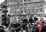Image of French crowd Paris France, 1945, second 6 stock footage video 65675074012