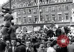 Image of French crowd Paris France, 1945, second 7 stock footage video 65675074012