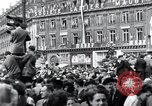 Image of French crowd Paris France, 1945, second 8 stock footage video 65675074012