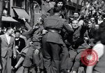 Image of Victory Day parade Paris France, 1945, second 4 stock footage video 65675074013