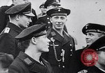 Image of U-47 submarine crew Berlin Germany, 1939, second 8 stock footage video 65675074054