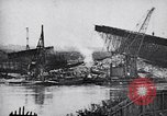 Image of damaged bridge Dirschau Poland, 1939, second 5 stock footage video 65675074063