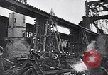 Image of damaged bridge Dirschau Poland, 1939, second 9 stock footage video 65675074063