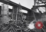 Image of damaged bridge Dirschau Poland, 1939, second 10 stock footage video 65675074063